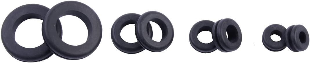 Gardner Bender GHG-AST Assorted Electrical Hole Grommets, ¼, ⅜, ¾