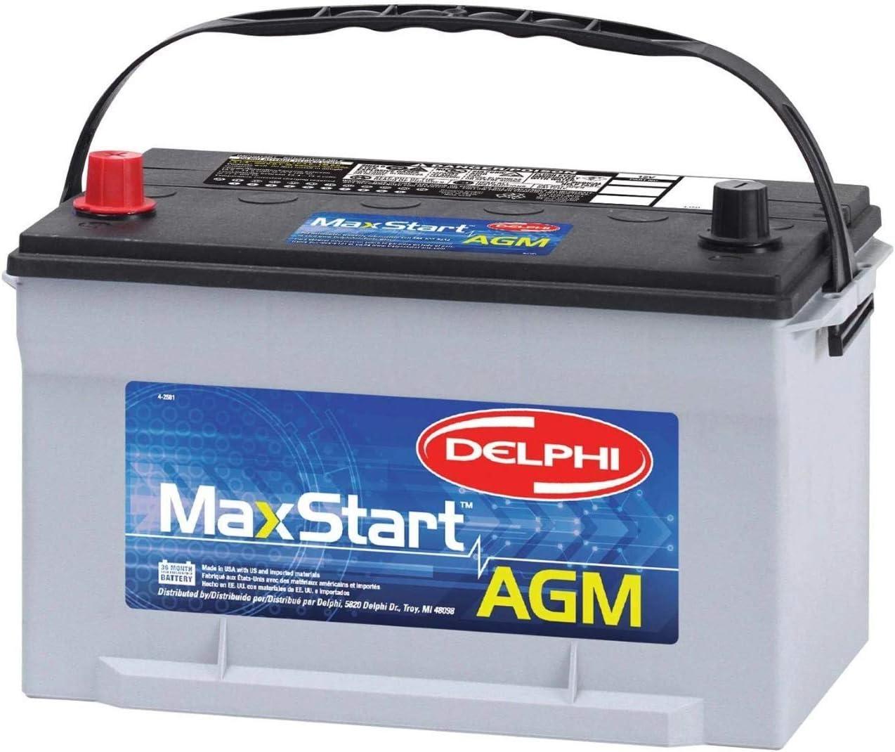 Delphi BU9065 MaxStart 70%OFFアウトレット 今季も再入荷 AGM Premium Battery Group Siz Automotive
