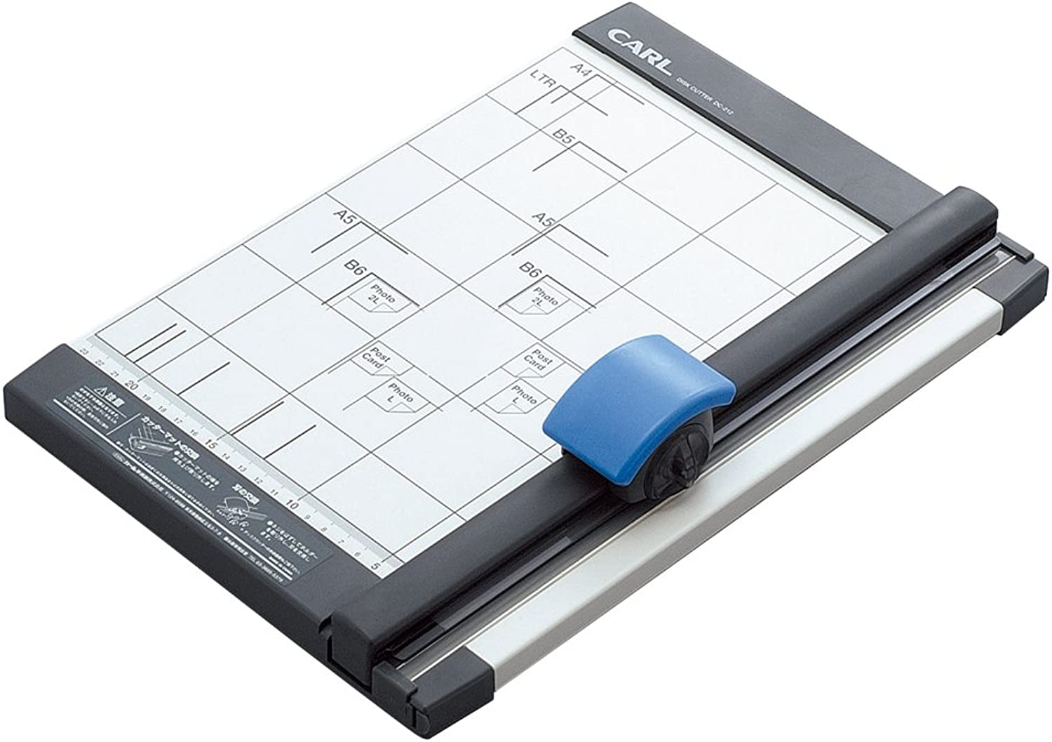 CARL DC-212 Rollenschneider  Rotary Trimmer (A4, (A4, (A4, 10sheets Straight; 3sheets Wave Pattern) B002UKPAG2   | Clearance Sale  937275