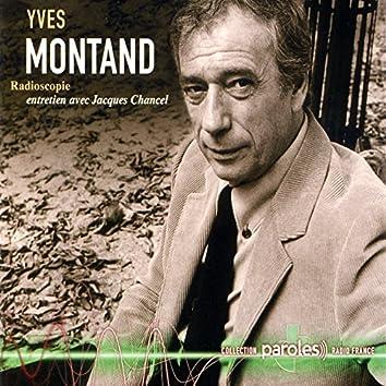 Radioscopie: Jacques Chancel reçoit Yves Montand