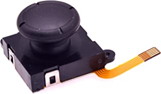 Deal4GO 3D Joystick Analog Thumbstick Sensor Rocker Replacement for Nintendo Switch Joy-Con Controller (Black (Third-Party))