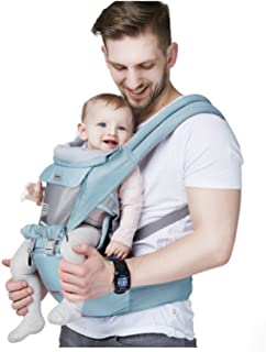 All Seasons Classic Baby/Child Carrier and Sling with Hip Seat/stool For Infant&Toddler,Ergonomic and 100% Cotton w/ Cool Mesh ,Baby Gift!
