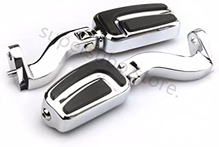 Motocycle Passenger Mounts + FootPegs For Harley Street Glide Touring 93-16 Chrome