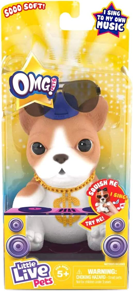 Little Live OMG Pets Have Hip - Now free shipping Oklahoma City Mall Hop Puppy Talent