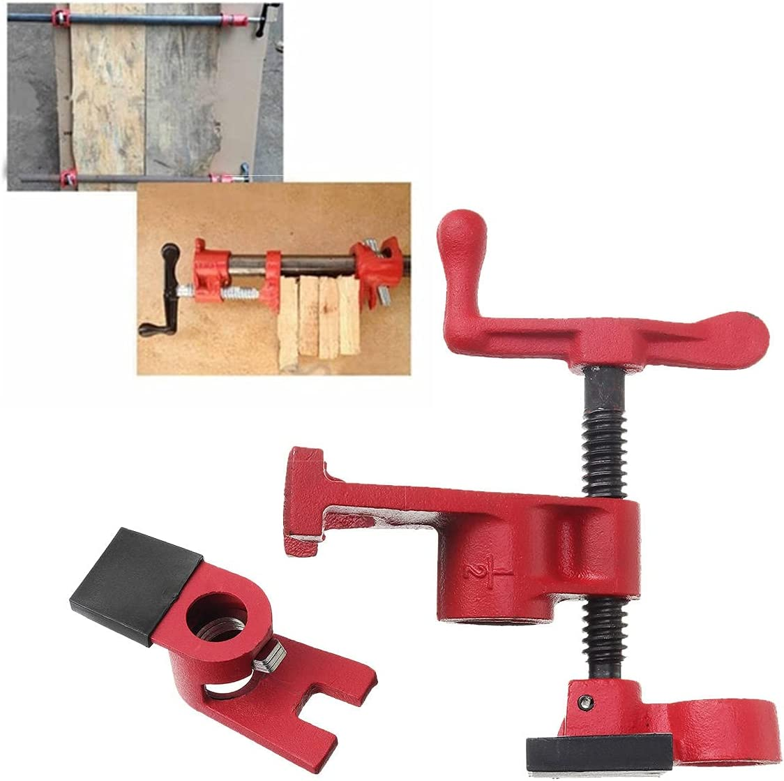 Wood Gluing Pipe Clamp Set Save money Metal Water For Plastic Pi Store