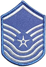 USAF Air Force Senior Master Sergeant Pilot Tab army navy academy military us air force academy cavalry marine corps national guard logo Jacket Patch Sew Iron on Embroidered Sign Badge Costume