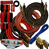 Best Amp Wiring Kits - 4 Gauge Amplfier Power Kit for Amp Install Review