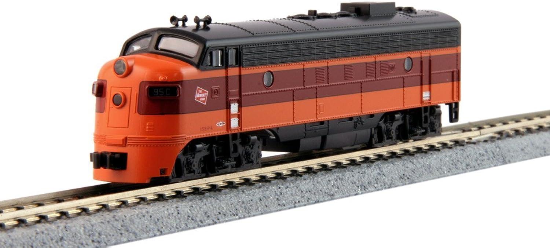 Spur N - Kato Diesellok EMD FP7A Milwaukee Road mit DCC