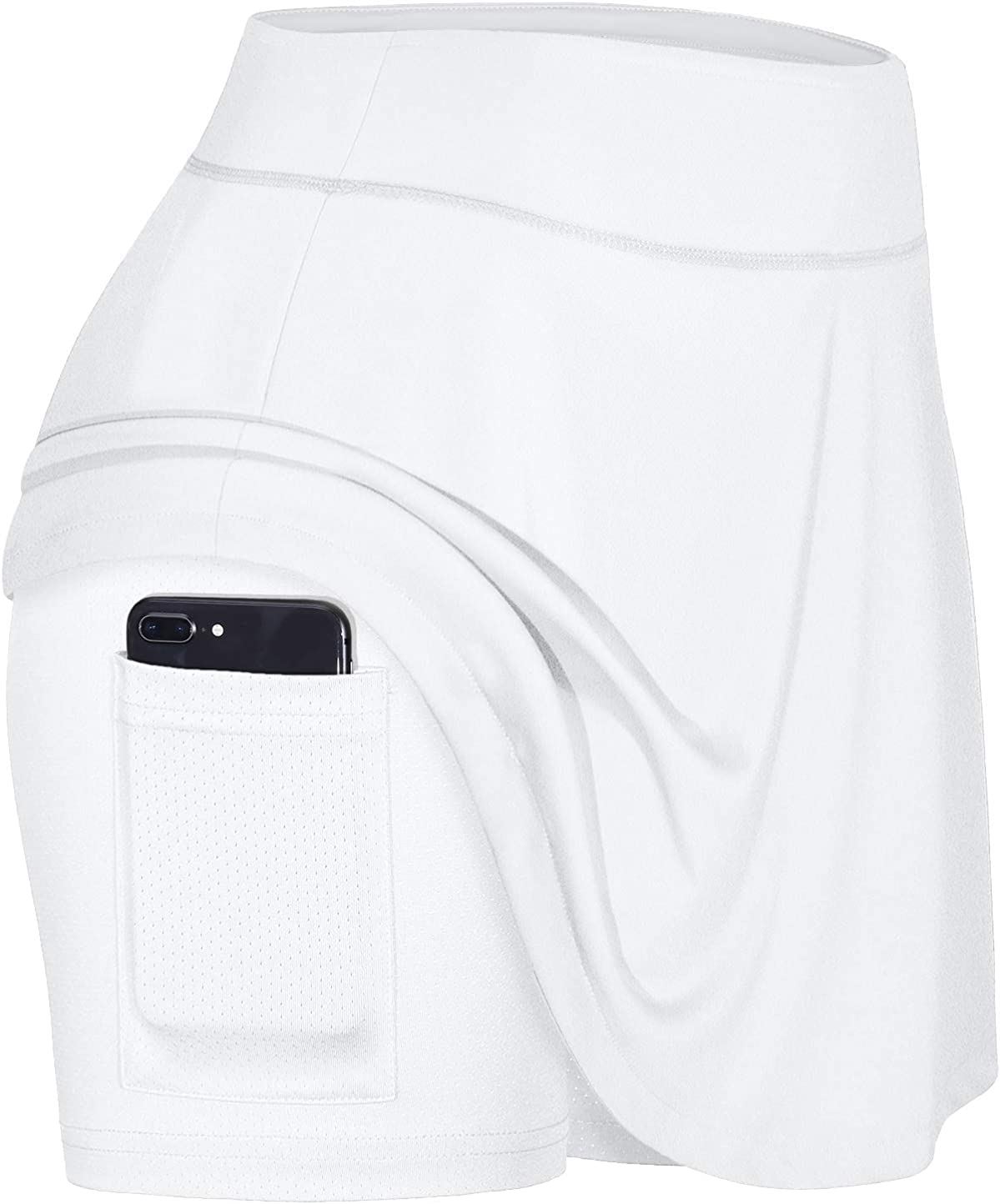 Blevonh Women's Tennis Skort Active with San Diego Mall Skirts Pleated f Pocket OFFicial shop