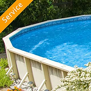 Above Ground Swimming Pool Assembly