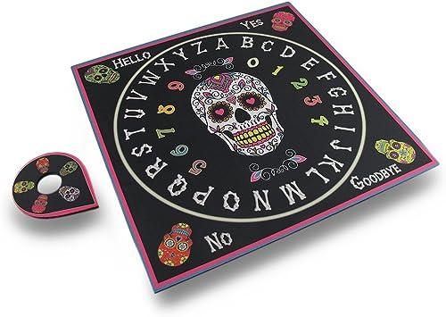 Day Of The Dead Talking Board Sugar Skull Ouija Board by Fantasy Gifts