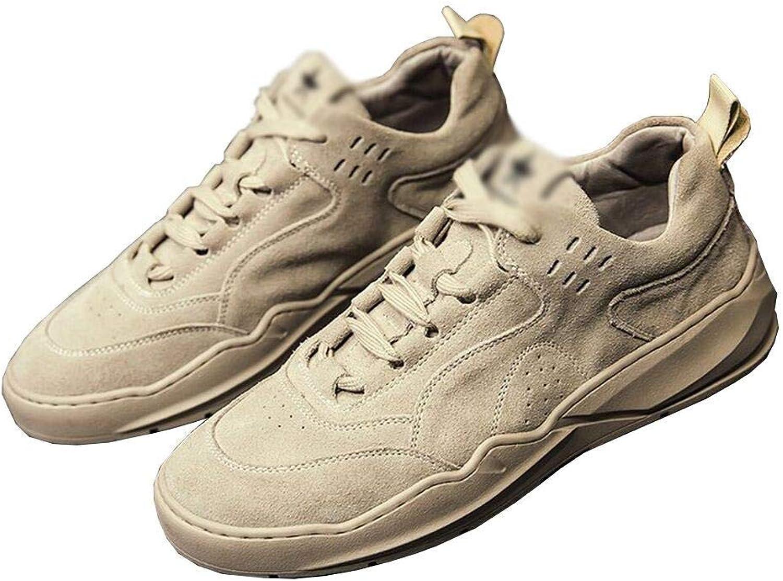 Sneakers HAIZHEN, Men's Casual shoes, Low-Cut Scrub shoes Lace-ups Cricket shoes