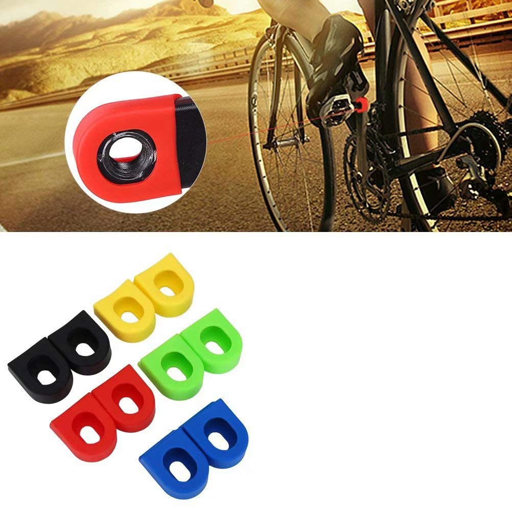 2pcs Protector Funda de Bielas Manivela para Brazo Bicicleta de ...