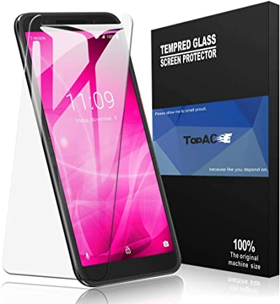 Amazon com: T-Mobile REVVL 2 Screen Protector, TopACE T-Mobile REVVL