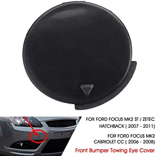 Front Bumper Tow Towing Eye Hook Cover Cap For Ford for Focus MK2 CC ST ZETEC 2007 2008 2009 2010 2011