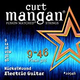 Curt Mangan 9-46 Nickel Wound Electric Guitar Strings