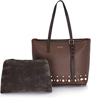 ELLE Women's Tote Handbags with Pouch