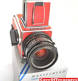 Stunning RED HASSELBLAD 501CM Camera,CF 80mm Lens,Latest A12,CLA Done