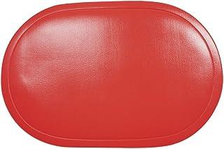 """Saleen Set de Table Vinyl """"Peking"""" en Rouge"""