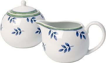 Villeroy & Boch Switch 3 Sugar Bowl and Milk Jug Hard Porcelain, Blue, 10 x 10 x 10 cm