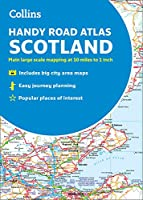 2019 Collins Handy Road Atlas Scotland (Collins Road Atlas)