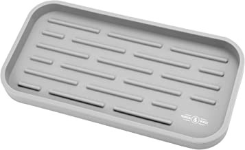 Silicone Sink Organiser | Countertop Dishwasher | Antibacterial Silicone Pad | Kitchen Organisation Tray | Sink Caddy | M&...