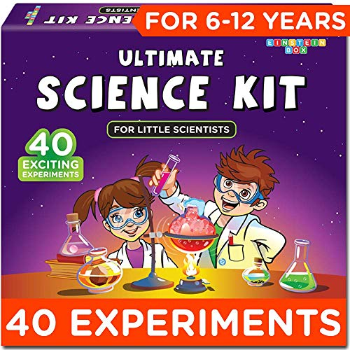 Einstein Box Science Experiment Kit   Chemistry Kit Toys for Boys and Girls Aged 6-12 Years   Birthday Gift Set for Girls & Boys Aged 7, 8, 9 and 10