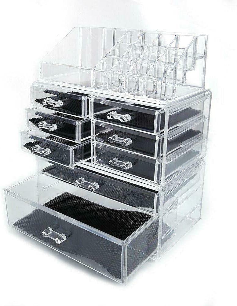 Brand Cheap Sale Venue Large Acrylic Cosmetic Storage Display Organizer Box Luxury Case Makeup