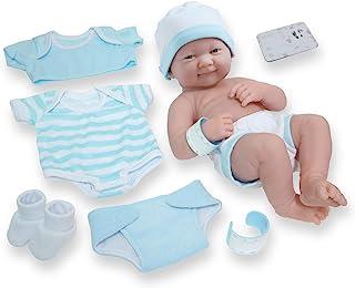 "8 piece Layette Baby Doll Gift Set | JC Toys – La Newborn Nursery | 14"".."