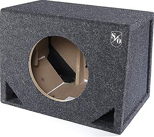 "Sound Ordnance BB10-125V Single 10"" Vented Box 1.5 cu ft"