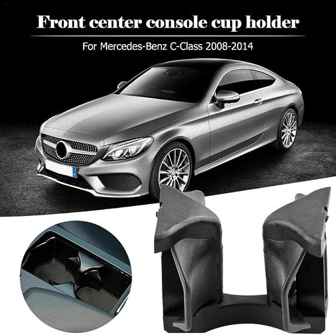Seasaleshop Auto Getränkehalter Mittelkonsole Getränkehalter Trennwand Für Mercedes Benz C E Glk Klasse W204 W207 W212 X204 Auto Styling Auto