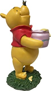 Winnie The Pooh, Large 10.5 Inch Tall Statue, Hand Painted, Official Disney Licensed Product