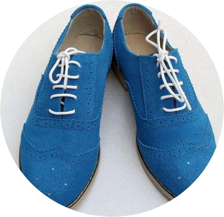 Secret-shop Men Genuine Leather Brogues Oxford Flats shoes for Mens Brown Handmade Vintage Casual Flat shoes 2019