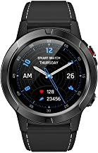 Smart Watch Waterproof Tempered Glass Activity Fitness Tracker Heart Rate M