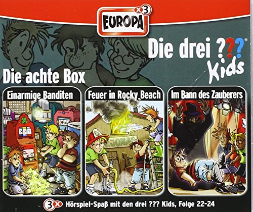 Die drei ???-Kids, 3er Box, 3 Audio-CDs