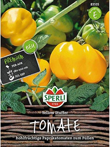 Tomate Yellow Stuffer (Tomatenpaprika)