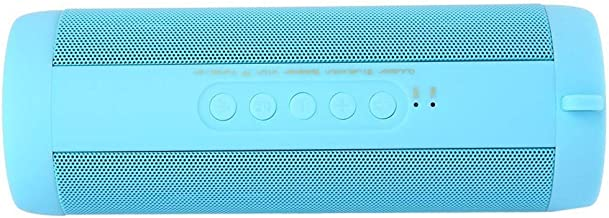 Bluetooth Audio Outdoor Waterproof Wireless Bluetooth Subwoofer Outdoor Portable Card Speaker (Color : Blue) photo