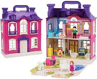 Creative Children Simulation Castle Furniture Girls Toys