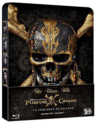 Piratas Del Caribe: La Venganza De Salazar - Edición Metálica (2D + 3D) [Blu-ray]