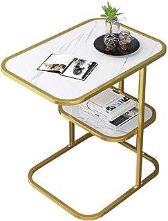 Table d'appoint de canapé de Table Basse de Meubles Modernes, Table de Chevet en métal, Table de Chevet, Bureau de télépho...
