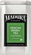 Madura Sencha Green 40 Leaf Infusers in Tea Caddy, 1 x 72 g