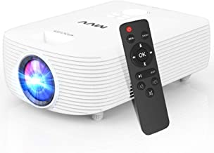 $89 » MVV Mini Projector [Latest] Compact Portable Projector for Outdoor Movies 5500 Lumens 1080P Supported, 200''Display Compat...