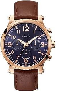 Guess Men's Arrow Blue Dial Watch - W1215G1