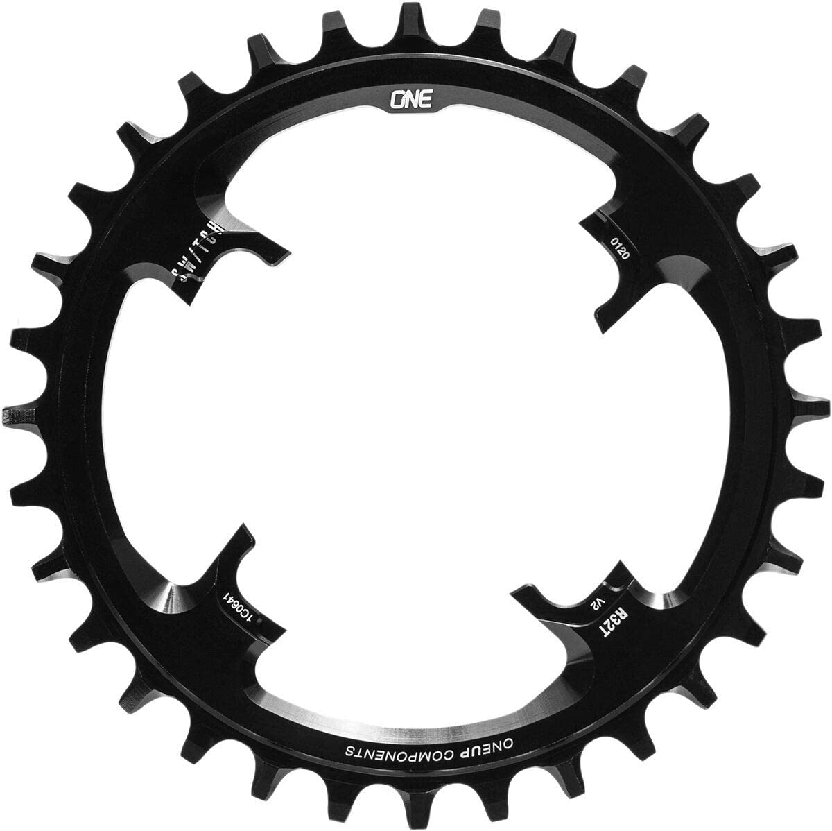 OneUp Components NEW Switch v2 30t Chainring Black 秀逸