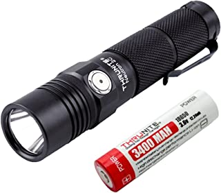 ThruNite Neutron 2C V3 Rechargeable LED Micro-USB Flashlight, 1100 Lumen with CREE XP-L LED, Turbo, Strobe Light and self-Defined Modes - Neutral White