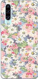 Suhctup Compatible con Huawei Honor 9A Funda Flor de TPU Transparente Diseño de Flores Patrón Cárcasa Ultra Fina Suave con...