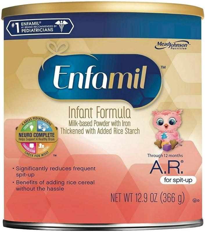 Enfamil A R Infant Formula For Spit Up Powder 12 9 Oz Pack Of 4