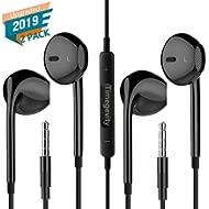 Timegevity Headphones/Earphones/Earbuds, 3.5mm Aux Wired Headphones Noise Isolating Earphones...