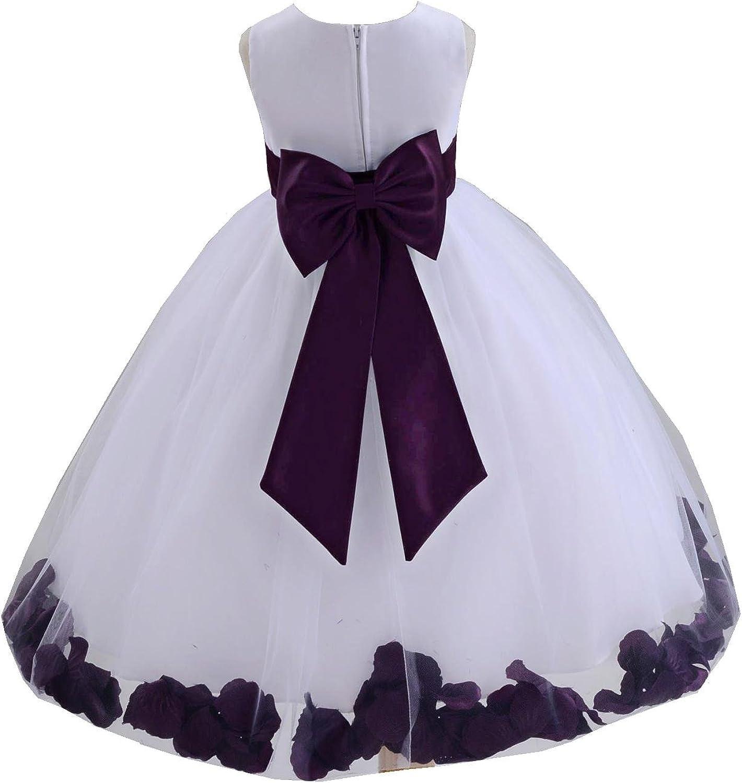 ekidsbridal Wedding Recommendation Pageant online shop Flower Petals Ti with Girl Dress Bow