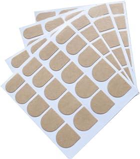 20個 ネイルパッチのための両面粘着テープスティッキー偽ネイルチップ